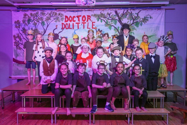 The Cast of Dr Dolittle