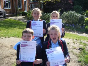 LAMDA Exam Success