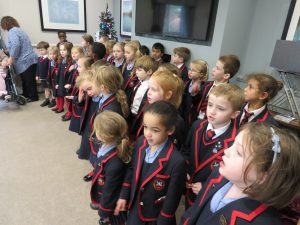 Year 1 & 2 sing at Corrina Lodge