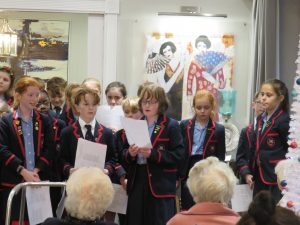Year 5 & 6 reciting their poetry