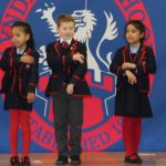 Singing in Spanish Assembly