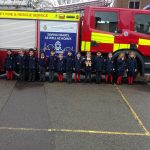 Reception Class at Camberley Fire Station
