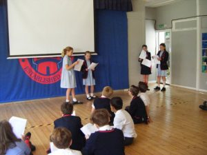 Drama - Performing to an audience