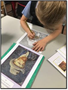 Can you copy the portrait of van Gogh accurately?