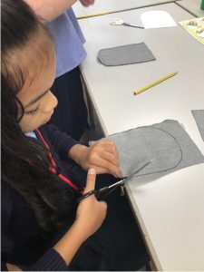 Preparations for Year 4 Tudor Pouches