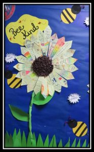 Our Kindness Petals have created beautiful sunflowers