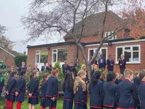 Showing our respect to those who have fallen