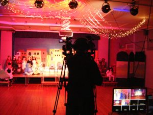 Filming the Nativity plays