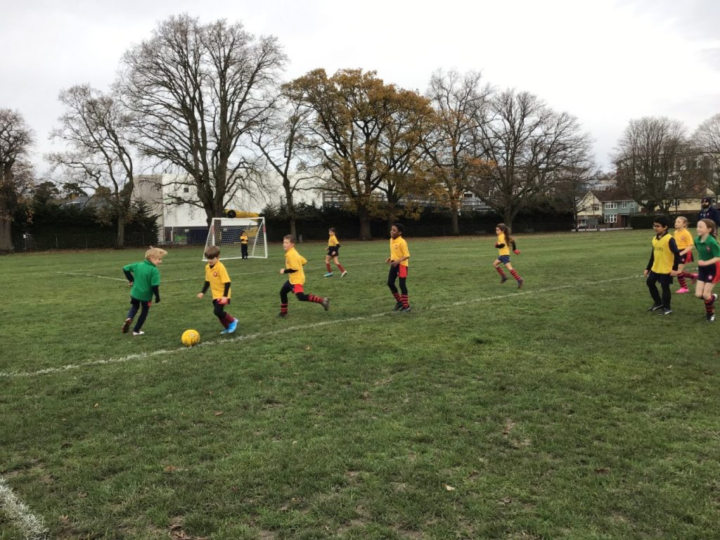 House football underway