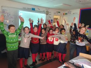 Year 4 Christmas Jumpers!