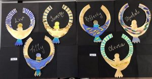 Ancient Egyptian Glamourous Necklaces