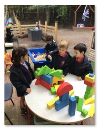 Playing with our building blocks