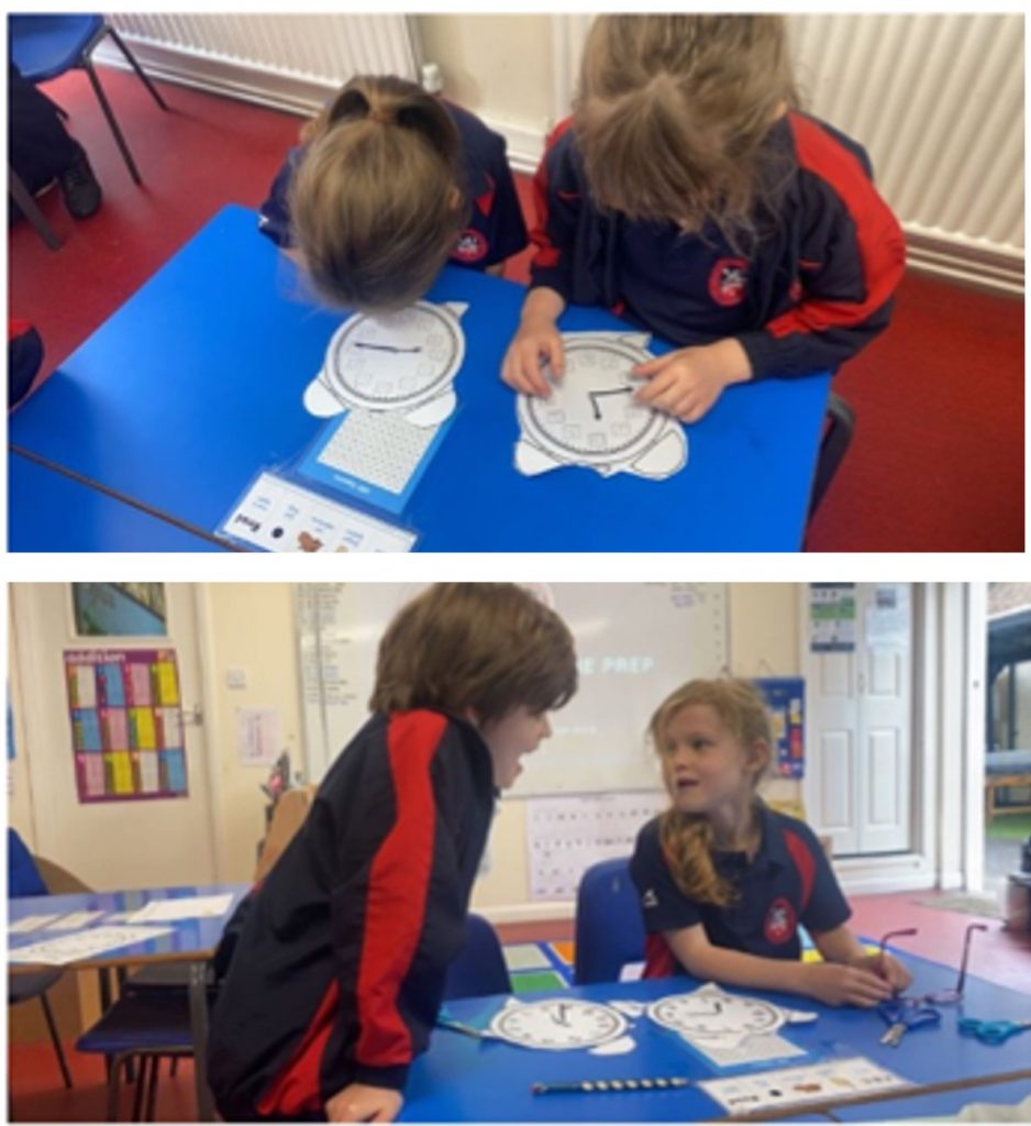 Year 2 Reading the time