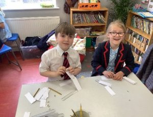 Year 3 foldable metre rulers