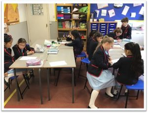 Year 4 Working on Playscripts