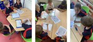 Year 1 exploring different ways to add numbers