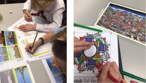 Year 3 3D City Scapes and exploring architecture