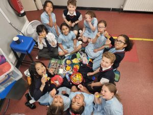 Year 4 Party in the Classroom