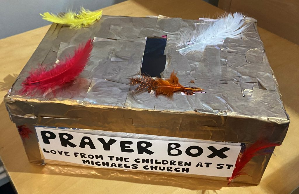 Prayer Box from St. Michaels Youth Group