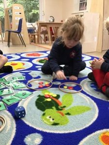 Pre Reception exploring the number four