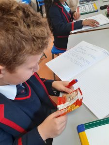 STEM examining what is in food