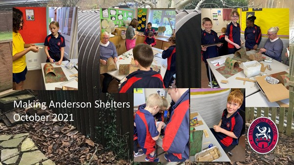 Y6 Anderson Shelters are taking shape